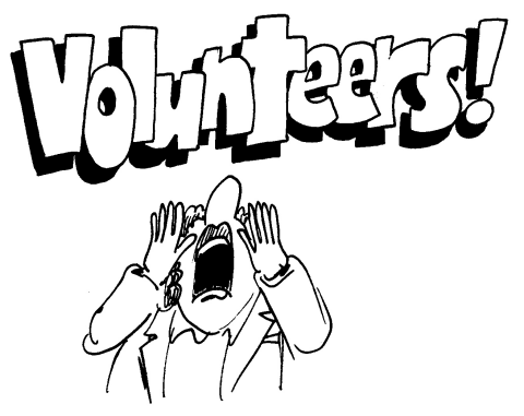 Image result for volunteers cartoon funny
