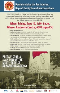 Decriminalizing The Sex Industry Beyond Myths And Misconceptions Ambrosia Centre On Fri Sept 19