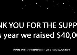 $40000 Thank You Facebook Banner