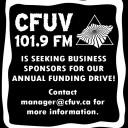 CFUV business sponsos